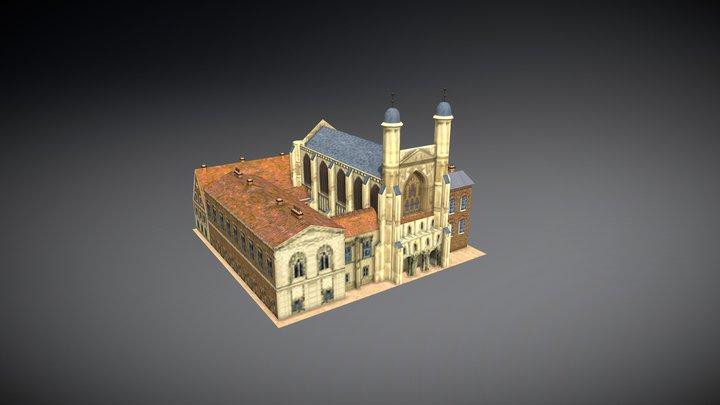 St Stephen's Chapel 3D Model