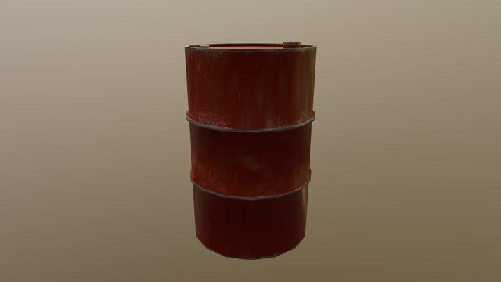 Metel Barrel 3D Model