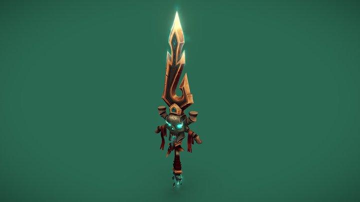 Soulstorm Dagger - Weaponcraft 3D Model