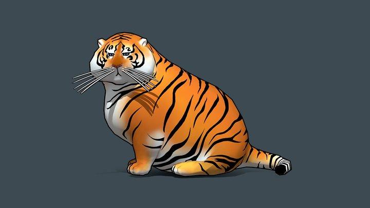 Tiger 3D Model