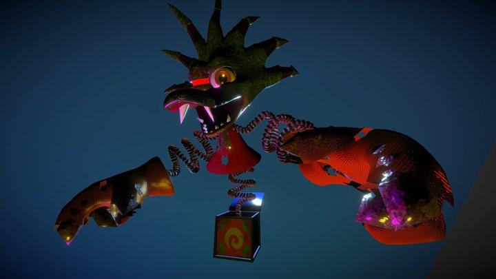 Mad Jack (Donkey Kong 64) 3D Model