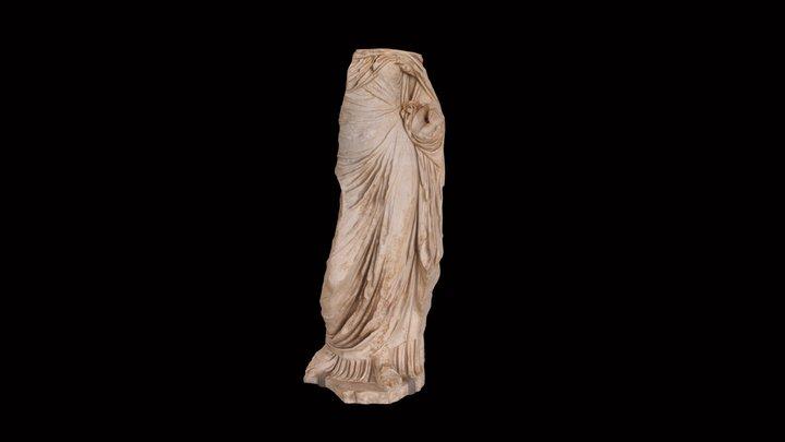 Estàtua romana del carrer Paradís 3D Model
