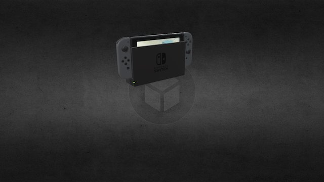 Nintendo Switch by David l-m 3D Model