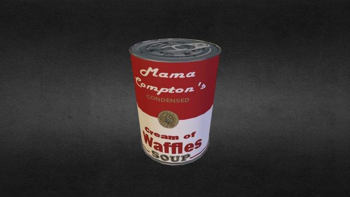 Soup Can 3D Model