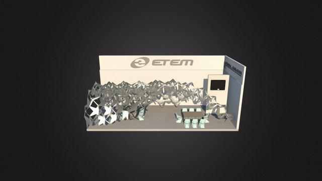 Hegdehog Pavilion, Exibition stand proposal 3D Model
