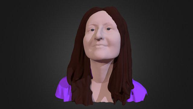 Lisa Portrait 3D Model
