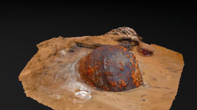 Unidentified Metal Debris/Object – UXO? 3D Model