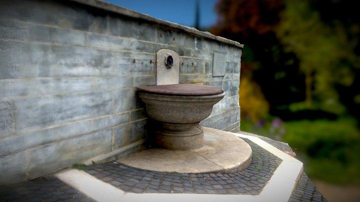 Brunnen in Radolfzell 3D Model