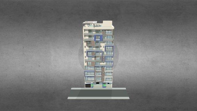 Plateau R+10 DKR 3D Model