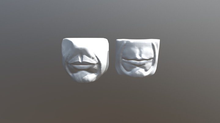 D1_mouth_nose 3D Model