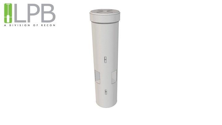 LPB Flare - 8 Foot 3D Model