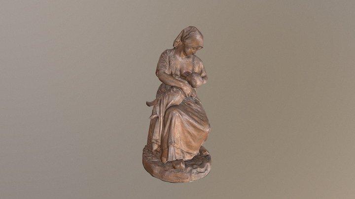 Paysanne française (maternity) 3D Model