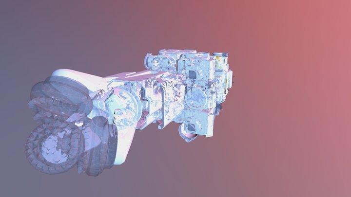 Micro Drone Drill MC100 Obj Files 3D Model