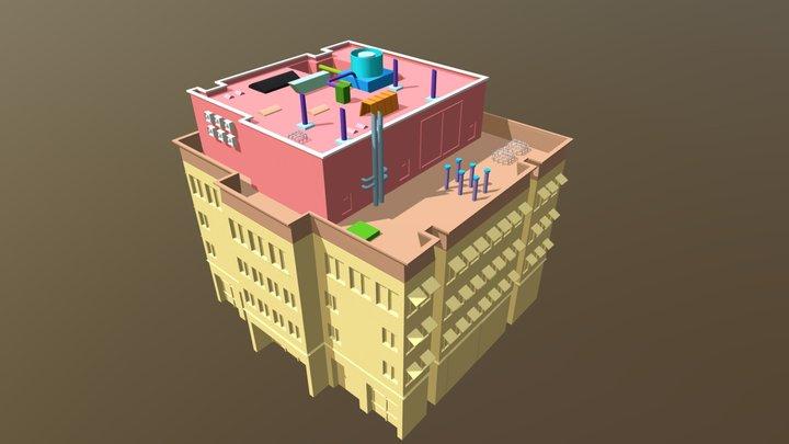 Best Environment Building For Games 3D Model