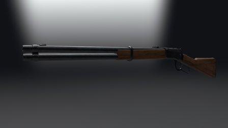 Winchester Mesh 3D Model