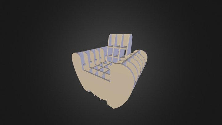 stl_fauteuil 3D Model
