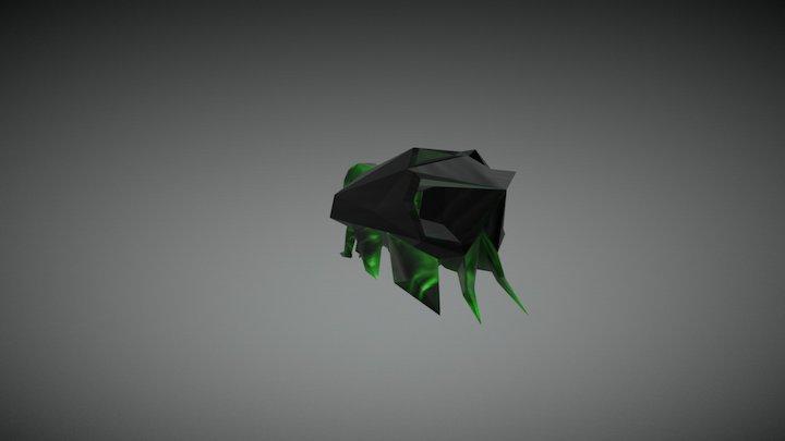 Jade Shotgun 3D Model