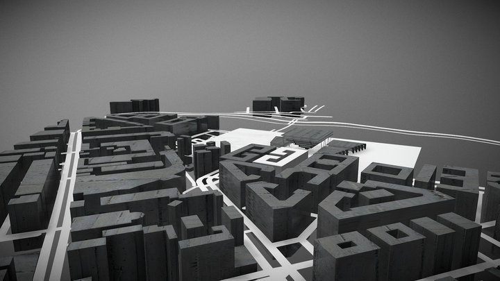 roma mix used 3D Model