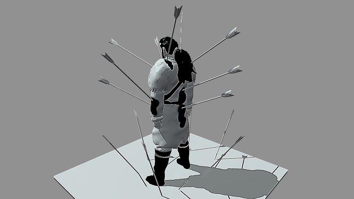 Thors Death Inktober Day15 Legend 3D Model