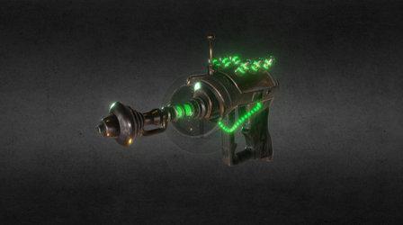 Alien Blaster 3D Model