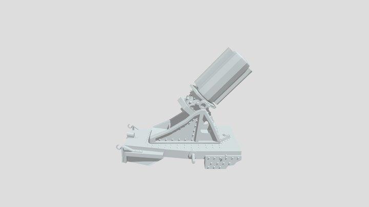 WW1 Turret 3D Model