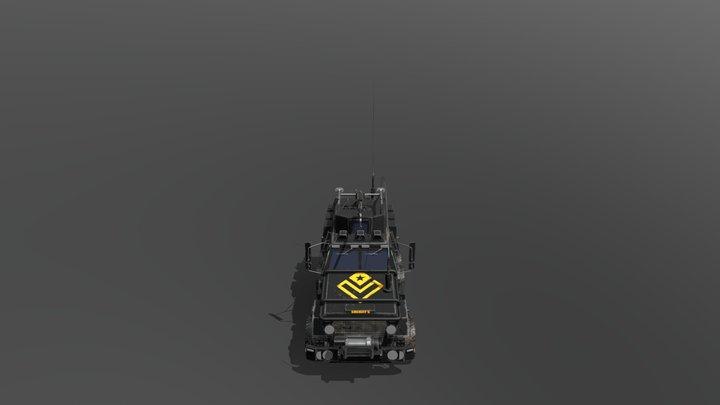 Truckv9 3D Model