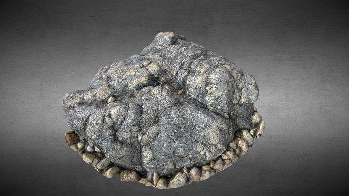 Rock 03 3D Model