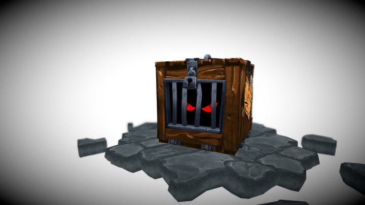 Crazy Critter Crate - Critter Cage 3D Model