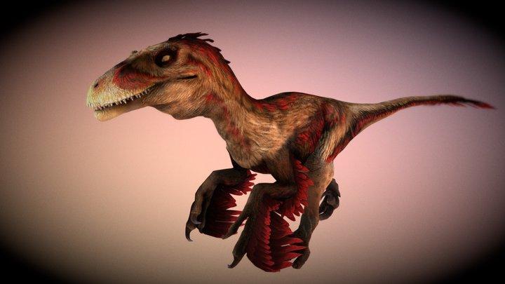 Dakotaraptor (1) 3D Model