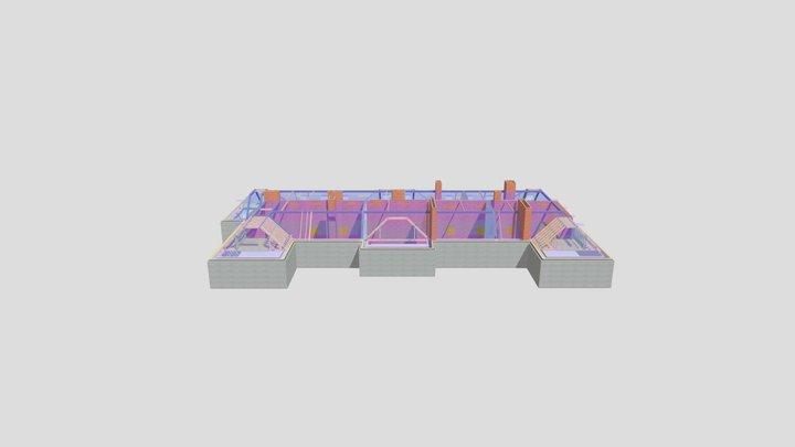 P12978 Berkeley Mansion House 3D Model