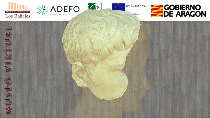 Retrato de príncipe julio-claudio (siglo I d.C.) 3D Model