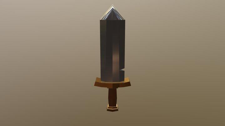 Clash Of Clans' Sword 3D Model
