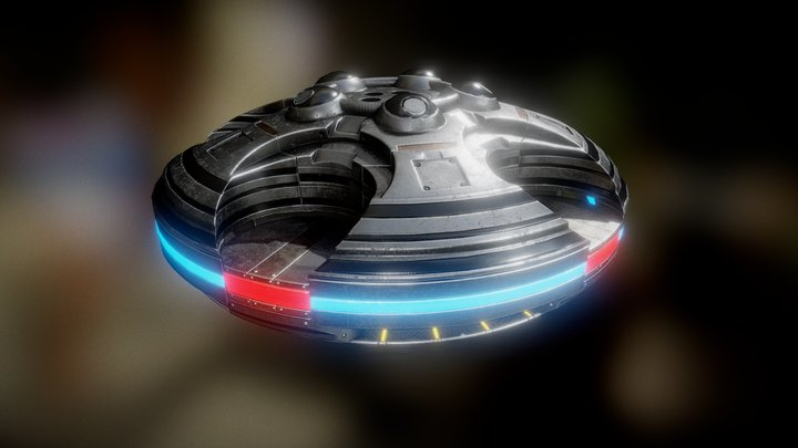 UFO Type 4 3D Model