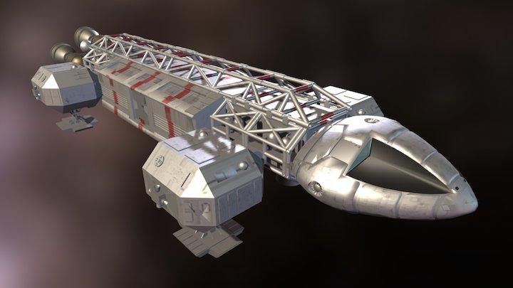 Eagle Transporter (Space:1999) 3D Model