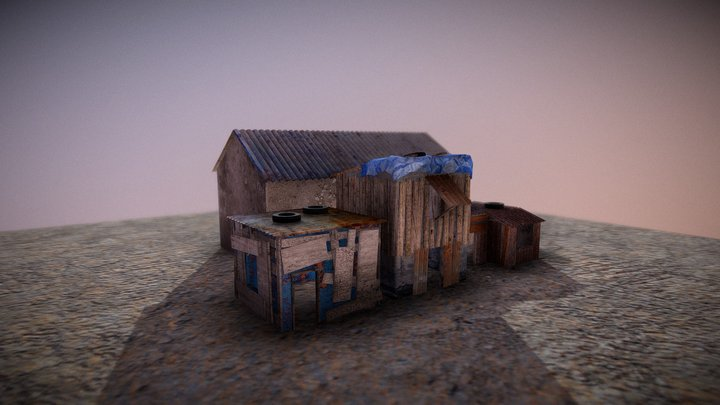 Slum 3D Model
