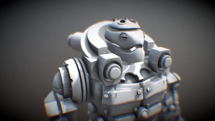 Krauss 3D Model