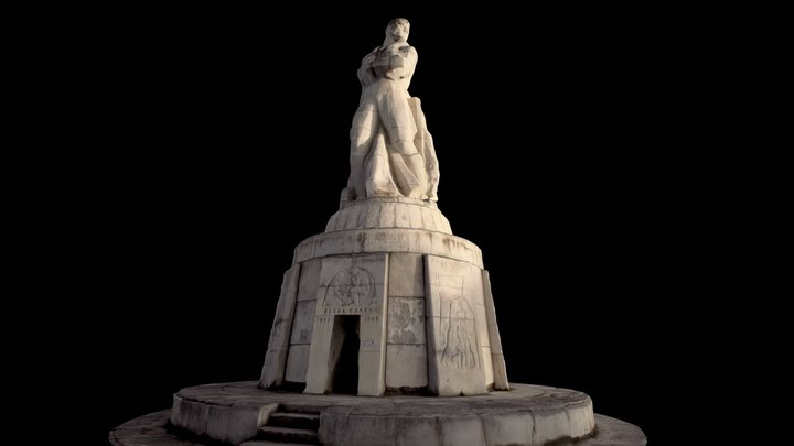 """The Monument of the Fallen Fighters"" - Bulgaria 3D Model"