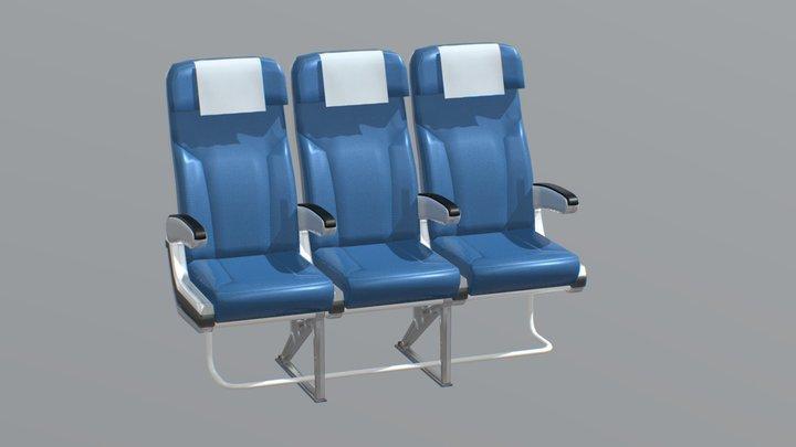 Aircraft Chair v2 3D Model