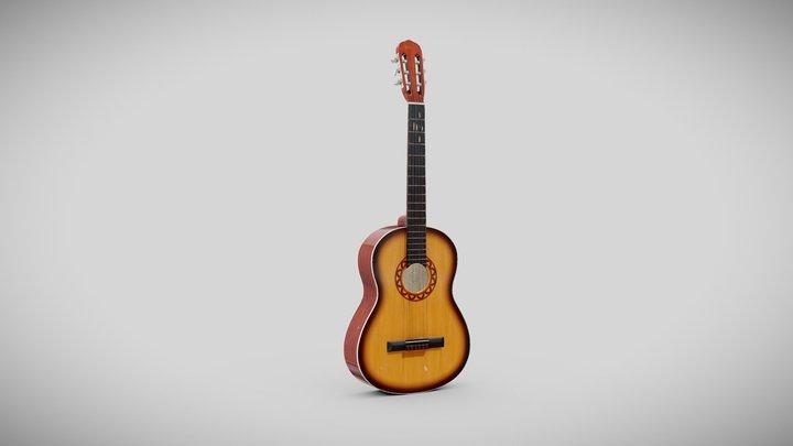 acoustic_guitar 3D Model