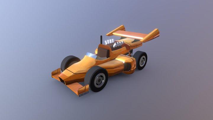 HCR2 Formula 3D Model