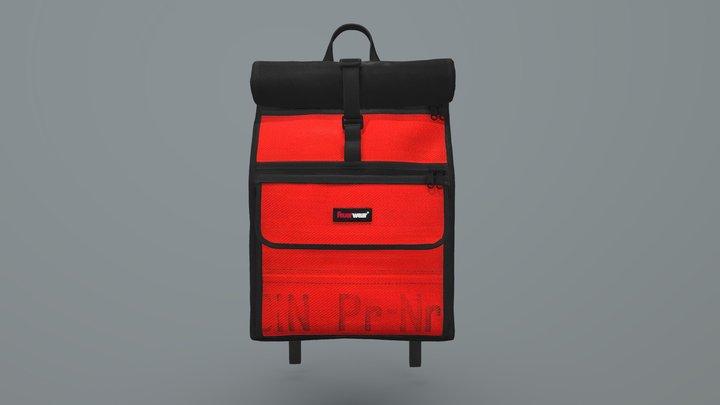 Feuerwear -- Rolltop backpack Eddie UK 3D Model