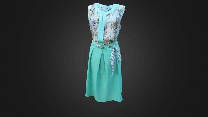 Dress04. Corrected 3D Model