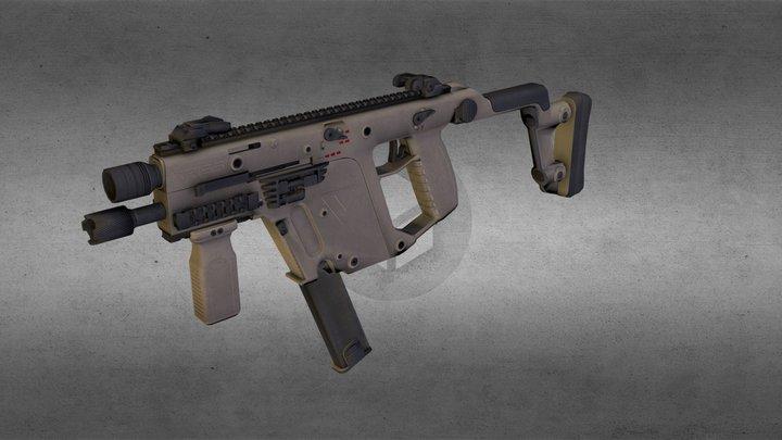 Kris Vector 3D Model