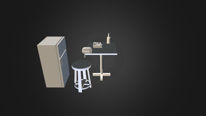 Kitchen_UGM-Eko 3D Model