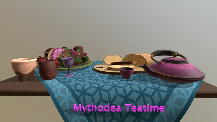Teaparty - 2. Compulsory Assignment 3D Model