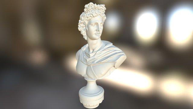 Antique Statue 3D Model