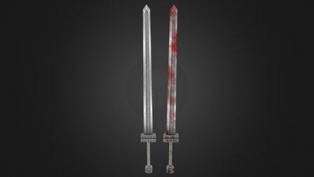 BERSERK Guts Sword- GoldenAge - 3D Model