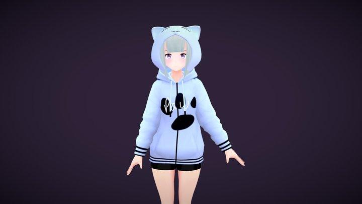 Sophie V2 - Original | VRChat/Game Ready 3D Model