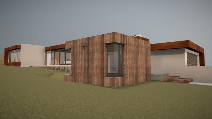 Bespoke House 02 3D Model
