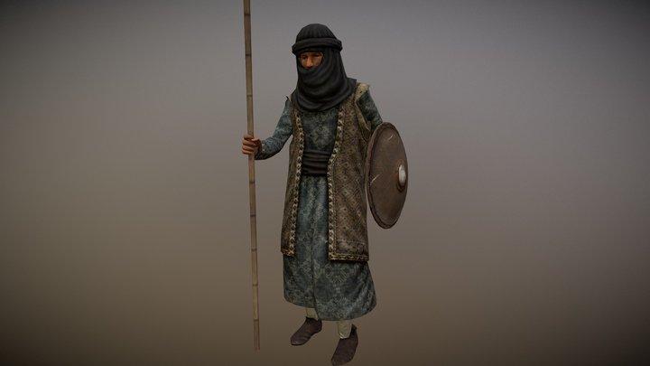 Berber Spearman (Machiavello Mod for M2TW) 3D Model